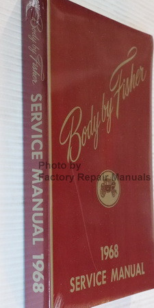 1968 Fisher Body Service Manual Spine View