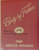 1968 Fisher Body Service Manual