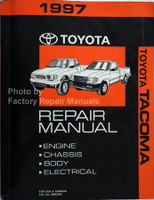 1997 Toyota Tacoma Repair Manual Engine Chassis Body Electrical