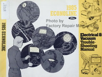 1985 Ford Econoline Electrical & Vacuum Troubleshooting Manual