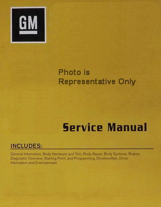 2018 Chevrolet Traverse Service Manual Volume 1, 2, 3, 4
