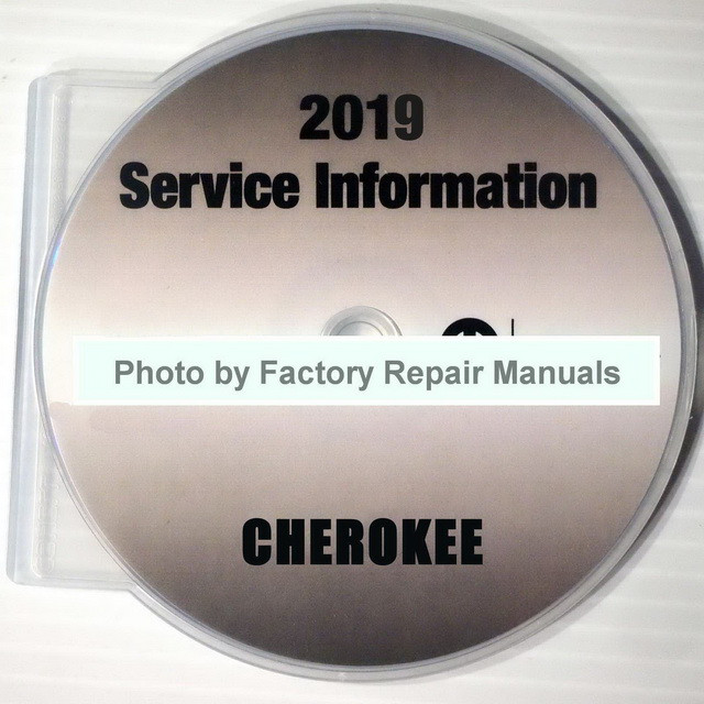 2019 Service Information Jeep Cherokee