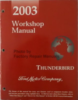 2003 Workshop Manual Ford Thunderbird