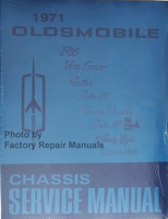1971 Oldsmobile F85, Vista Cruiser, Cutlass, 442 Delta 88, Ninety Eight, Tornado Chassis Service Manual