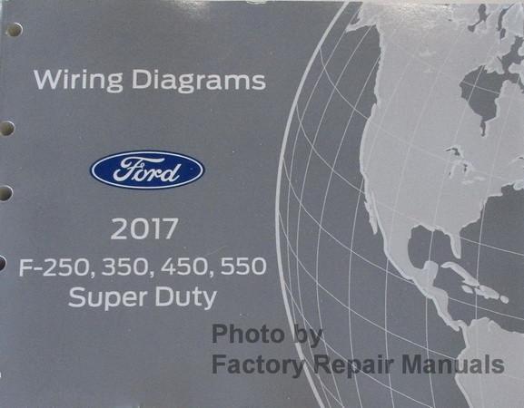 Sensational 2017 Ford F250 F350 F450 F550 Electrical Wiring Diagrams Original Wiring 101 Ferenstreekradiomeanderfmnl