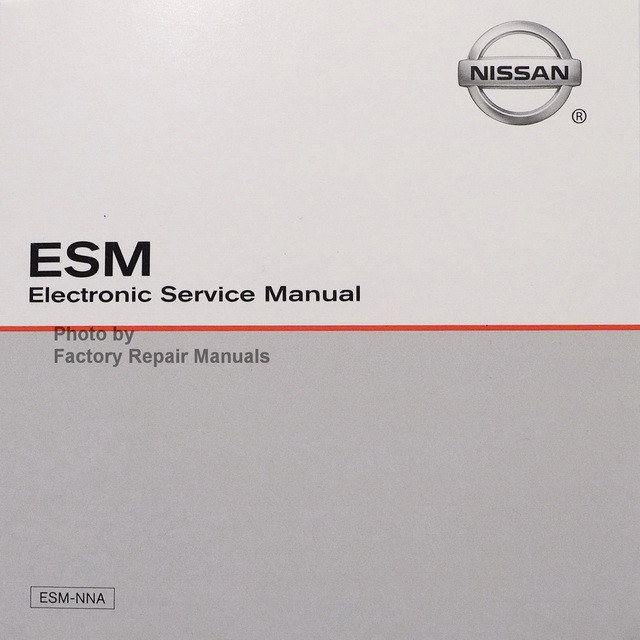 2019 Nissan 370Z ESM Electronic Service Manual