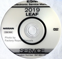2019 Nissan LEAF Electronic Service Manual CD-ROM