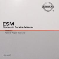 2019 Nissan Maxima ESM Electronic Service Manual CD
