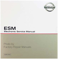 2019 Nissan Titan ESM Electronic Service Manual CD