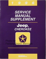 1996 Jeep Cherokee Service Manual Supplement