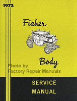 1972 Fisher Body Service Manual