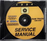 1994 Service Manual Ram Truck 1500 - 3500 CD
