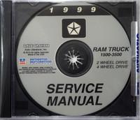 1999 Service Manual Ram Truck 1500-3500