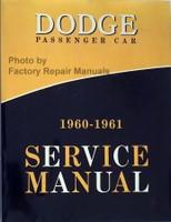 Dodge Passenger Car 1960-1961 Service Manual