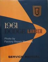 1961 Dodge Lancer Service manual
