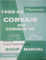 1962-64 Chevrolet Corvair and Corvair 95 Shop Manual Supplement