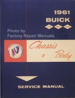 1961 Buick Chassis & Body Service Manual
