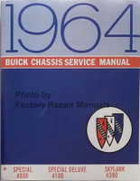 1964 Buick Special, Special Deluxe & Skylark Chassis Service Manual 4000-4100-4300