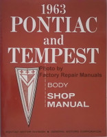 1963 Pontiac Pontiac and Tempest Body Shop Manual