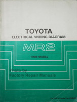 1988 Toyota MR2 Electrical Wiring Diagrams