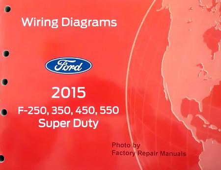 Ford 2015 F250 F350 F450 F550 Super Duty Wiring Diagrams