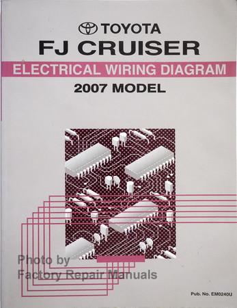 2007 Toyota FJ Cruiser Electrical Wiring Diagrams