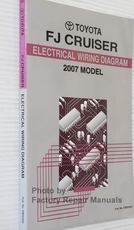 2007 Toyota FJ Cruiser Electrical Wiring Diagrams Spine View