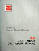 1990 GMC Light Duty Truck Unit Repair Manual