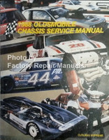 1988 Oldsmobile Cutlass Supreme Chassis Service Manual