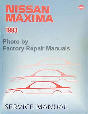 Nissan Maxima 1993 Service Manual