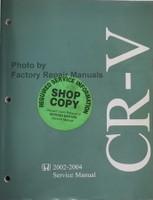 2002-2004 Honda CR-V Service Manual