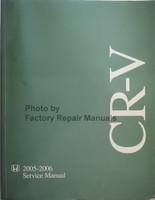 2005 2006 Honda CR-V Factory Service Manual