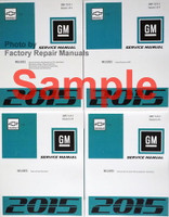 2017 Chevy Bolt EV Service Manual Volumes 1, 2, 3, 4