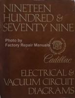 1979 Cadillac Electrical and Vacuum Circuit Diagrams Manual