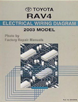 2003 Toyota Rav4 Electrical Wiring Diagrams