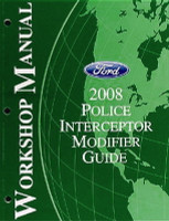 2008 Ford Police Interceptor Sedan Modifier Guide