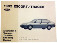 1992 Ford Escort and Mercury Tracer Electrical Vacuum & Troubeshooting Manual