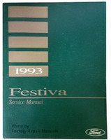 1993 Ford Festiva Factory Shop Service Manual