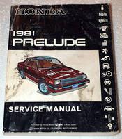 Honda 1981 Prelude Service Manual