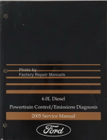 6.0L Diesel Powertrain Control/Emissions Diagnosis 2005 Service Manual