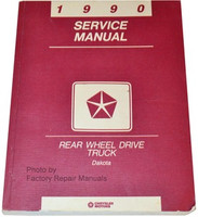 1990 Dodge Dakota Pick-up Truck Factory Service Manual Original Shop Repair