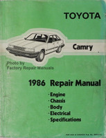 Toyota Camry 1986 Repair Manual