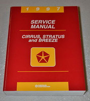1997 Chrysler Cirrus Dodge Stratus Plymouth Breeze Factory Shop Service Manual