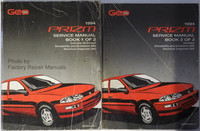 1994 Geo Prizm Factory Service Manual Set Original Chevrolet Shop Repair