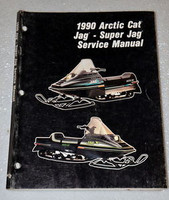 1990 ARCTIC CAT SUPER JAG, DELUXE Snowmobile Factory Shop Service Repair Manual