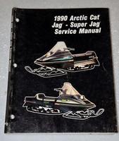 1990 ARCTIC CAT SUPER JAG, DELUXE Snowmobile Factory Shop Service Repair Manual