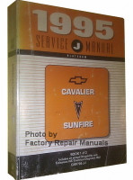 1995 Chevrolet Cavalier Pontiac Sunfire Service Manual Volume 1
