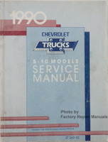1990 Chevrolet S-10 Models Service Manual