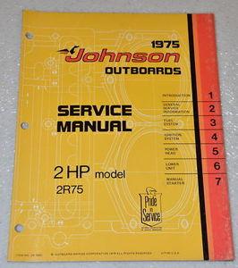 johnson repair manuals