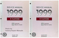 1999 Chevrolet Monte Carlo and Lumina Factory Service Manual Set Original Repair